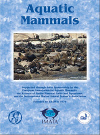Aquatic Mammals journal cover